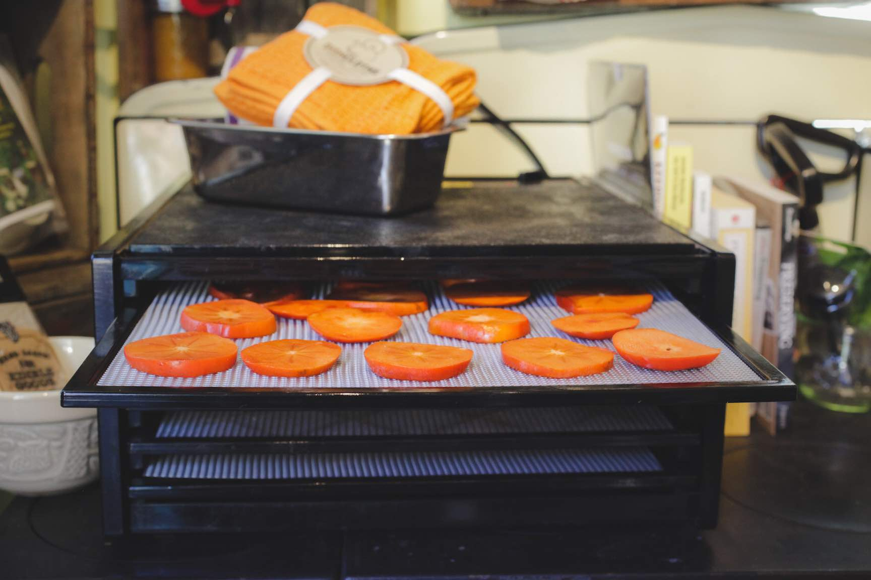 how to make dehydrated persimmons