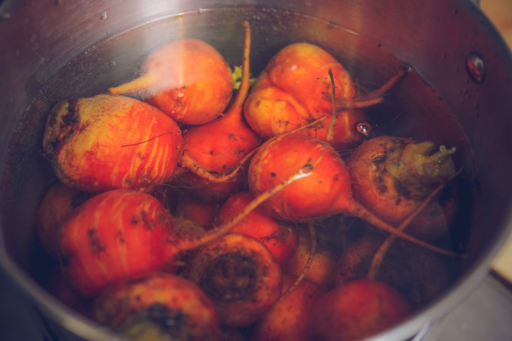 pickled golden beets with ginger recipe