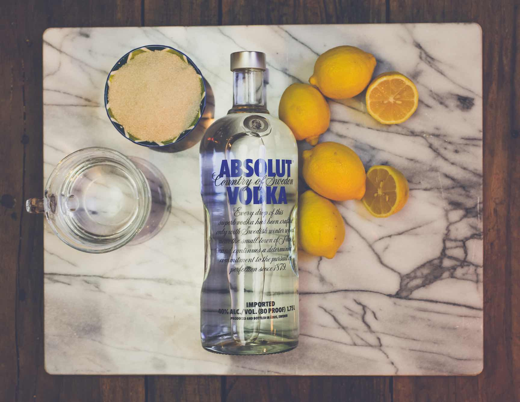 how to make limoncello with infused vodka absolut