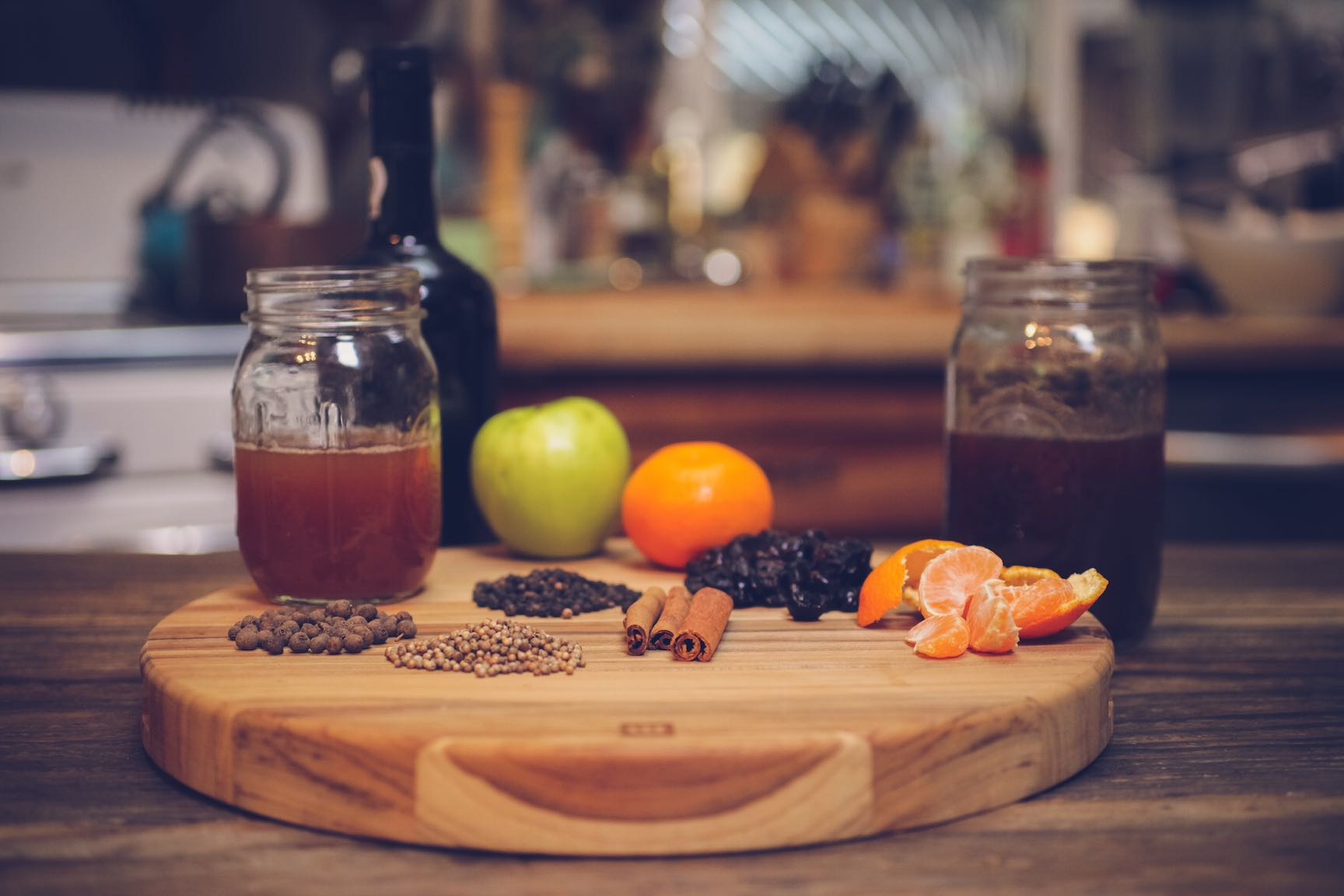 tart and tawny mulled cider cocktail recipe