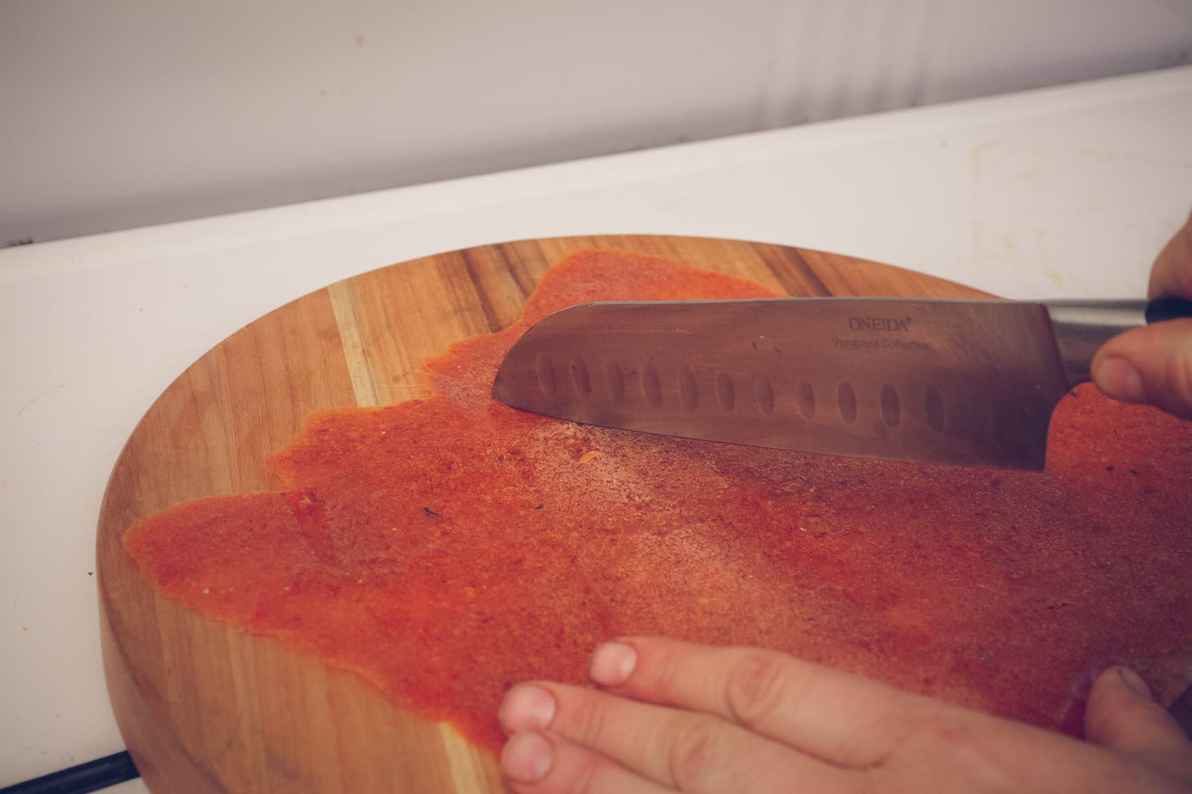 dried persimmon fruit leather recipe