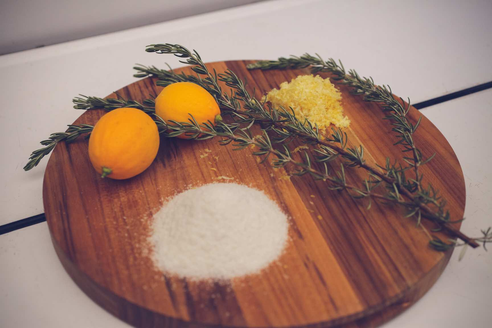 lemon rosemary salt blend recipe