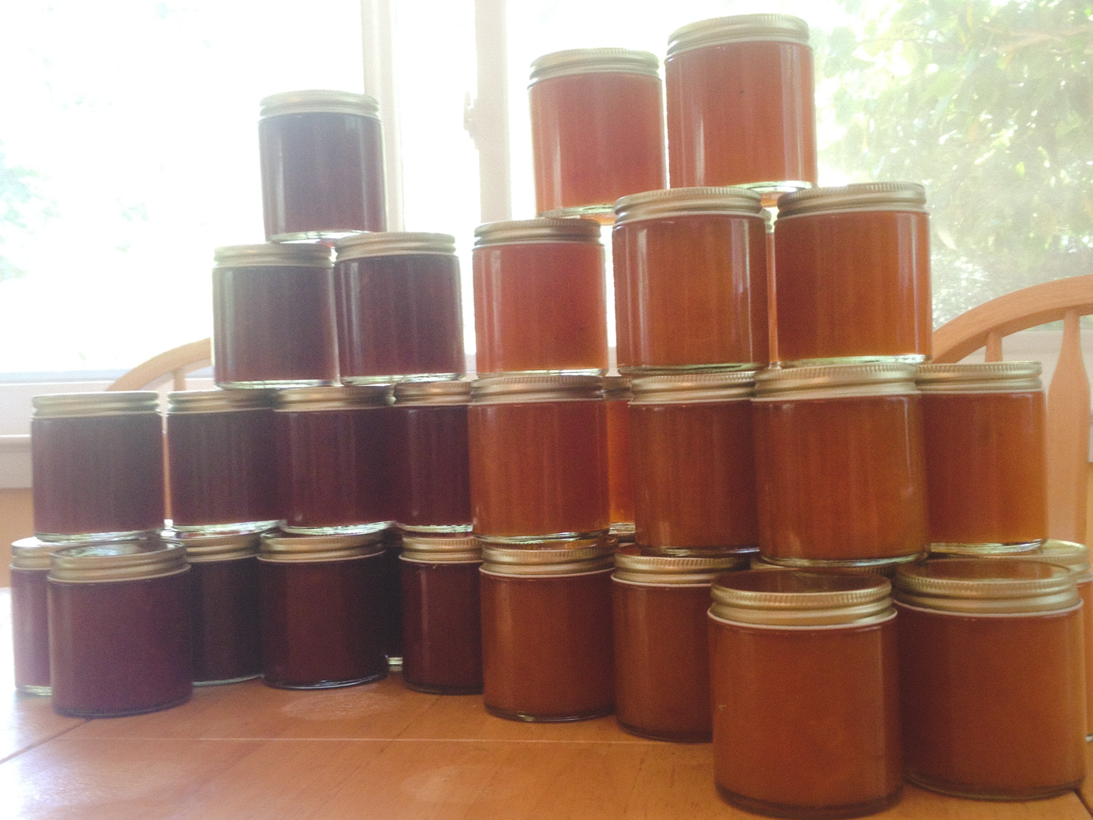 simple, healthy apricot jam recipe