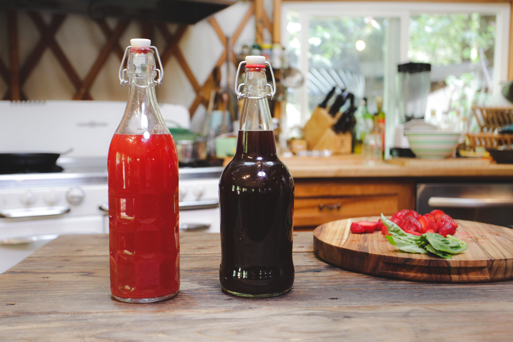 shrub beverage, how to make shrub sparkling drink