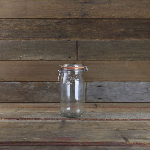 Le Parfait Canning Jars - 1.5 Liter Bail Closure Canning Jar - #910774 - Home Canning Supplies