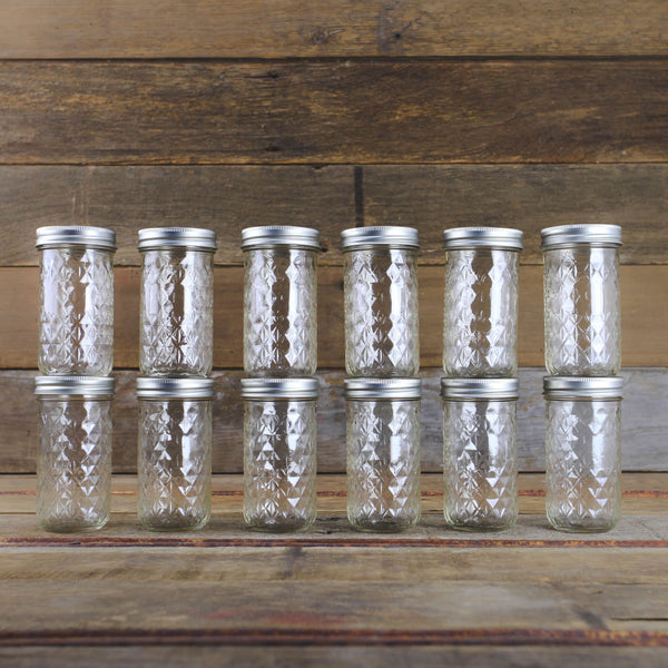 Ball 12 Oz Quilted Jelly Canning Jars Case Of 12 Home