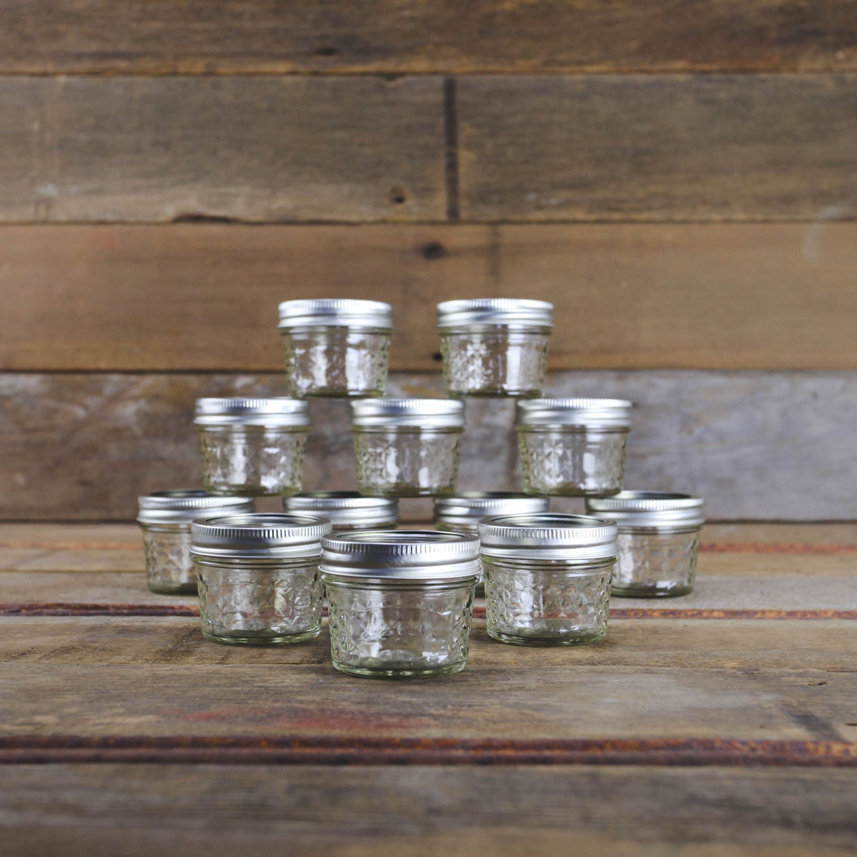 Ball 4 Oz. Quilted Jelly Canning Jars   Case Of 12   Canning Supplies ...