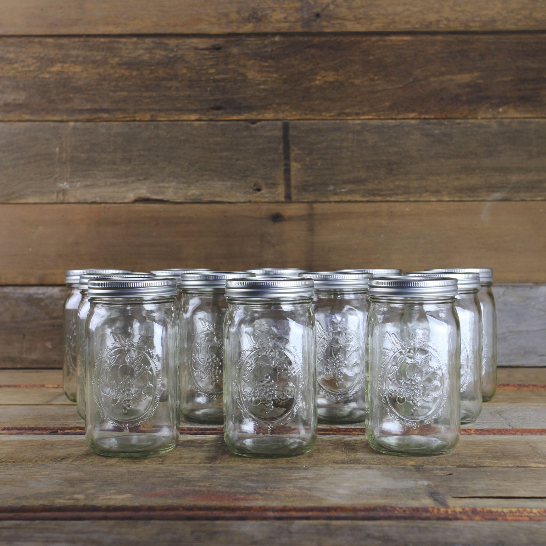 ball quart wide-mouth canning jar for homemade gift making