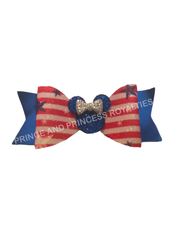 Patriotic Minnie Bow