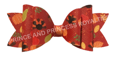 Minnie Thanksgivings Bow