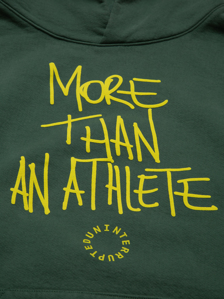 MORE THAN AN ATHLETE SUMMIT HOODIE LEMON LIME