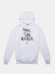 MORE THAN AN ATHLETE SUMMIT HOODIE HEATHER GREY
