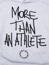 Load image into Gallery viewer, MORE THAN AN ATHLETE SUMMIT HOODIE HEATHER GREY