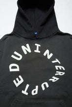 Load image into Gallery viewer, WARPED LOGO SUMMIT DIP DYED HOODIE FADED GREEN/BLACK (4495489728592)