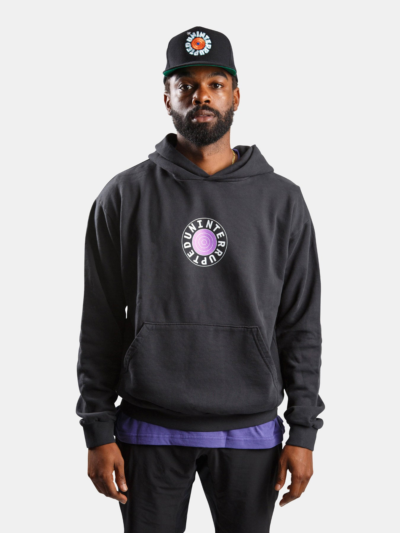 WELCOME TO THE JAM HOODIE BLACK