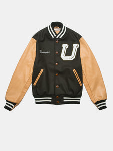 UNINTERRUPTED ALL STAR VARSITY JACKET LODEN GREEN