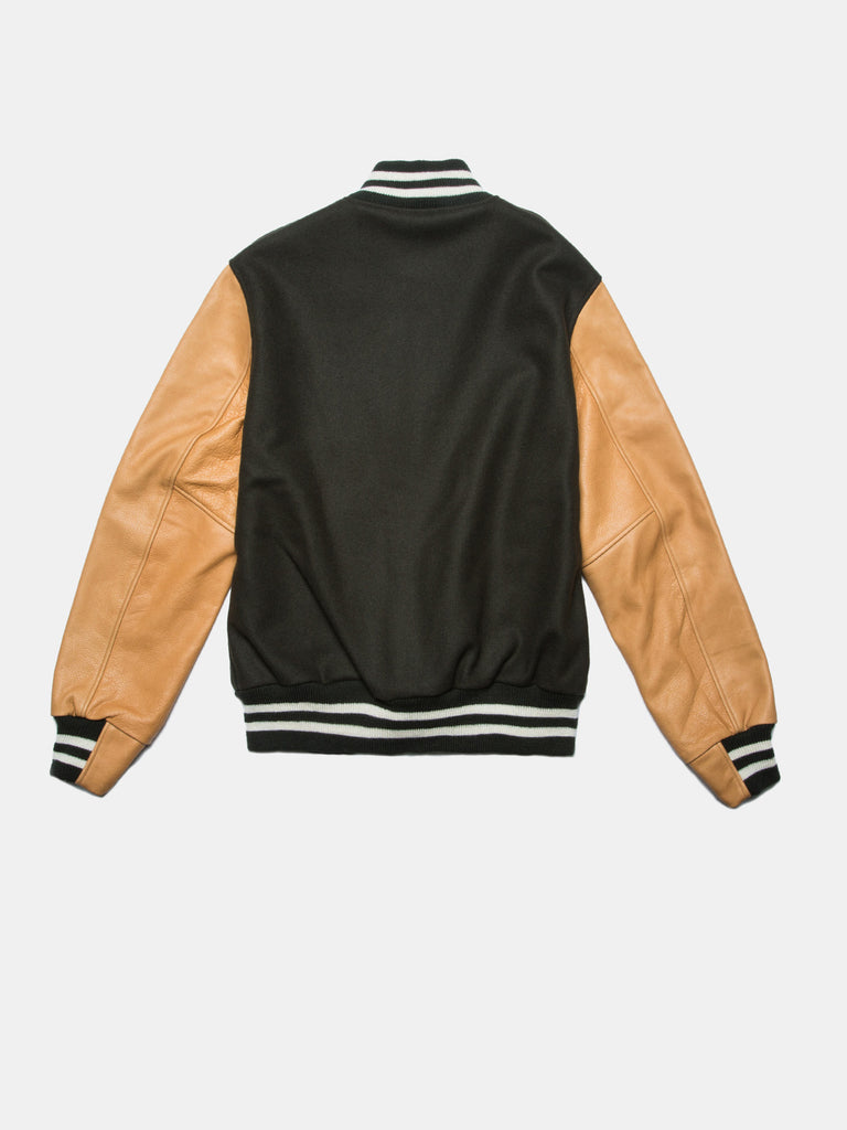 UNINTERRUPTED ALL STAR VARSITY JACKET LODEN GREEN (4458685071440)