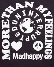 Load image into Gallery viewer, UNINTERRUPTED X MADHAPPY MORE THAN MY FEELINGS SS TEE