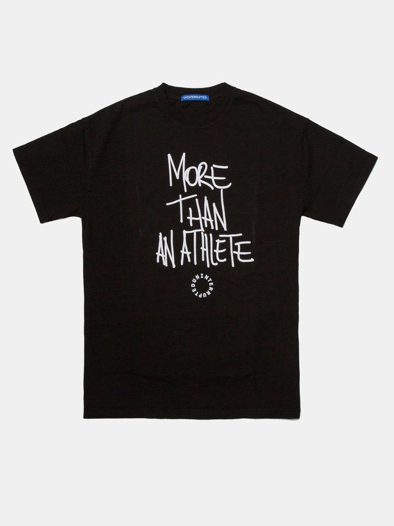 MORE THAN AN ATHLETE VENICE TEE BLACK