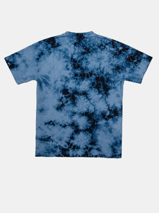 MORE THAN AN ATHLETE VENICE TEE BLUE TIE DYE