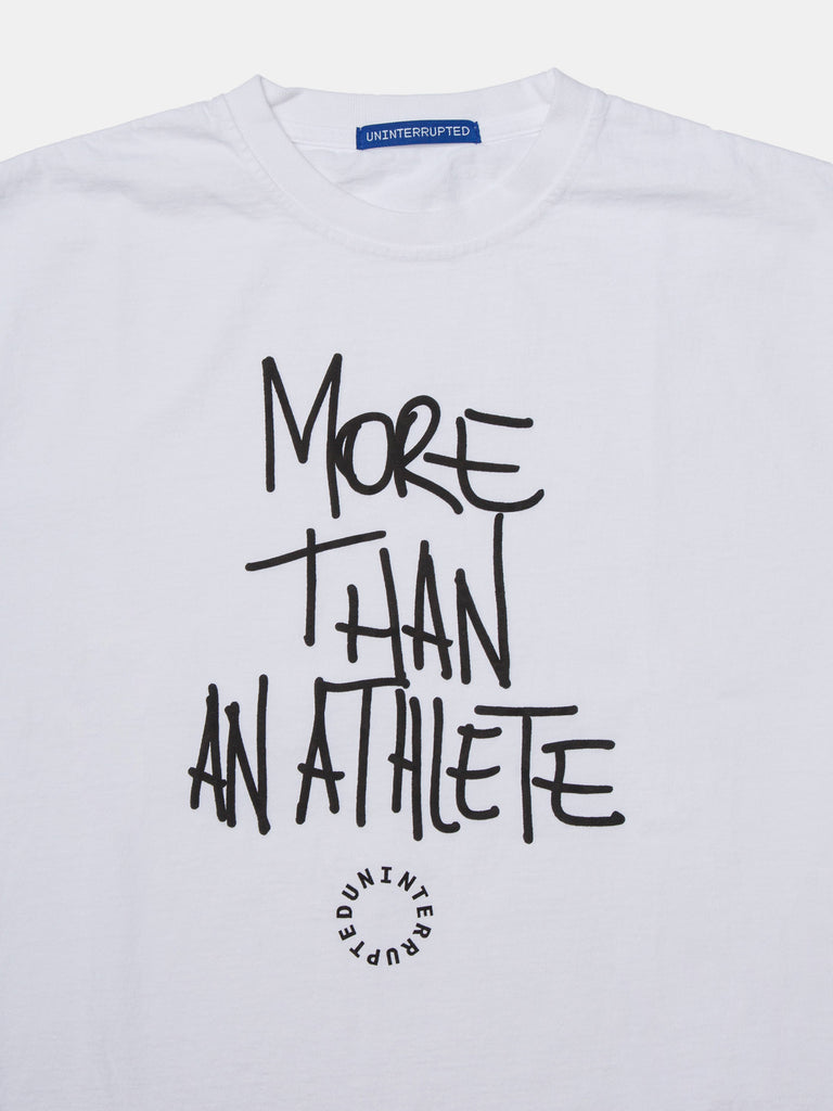 MORE THAN AN ATHLETE VENICE TEE WHITE