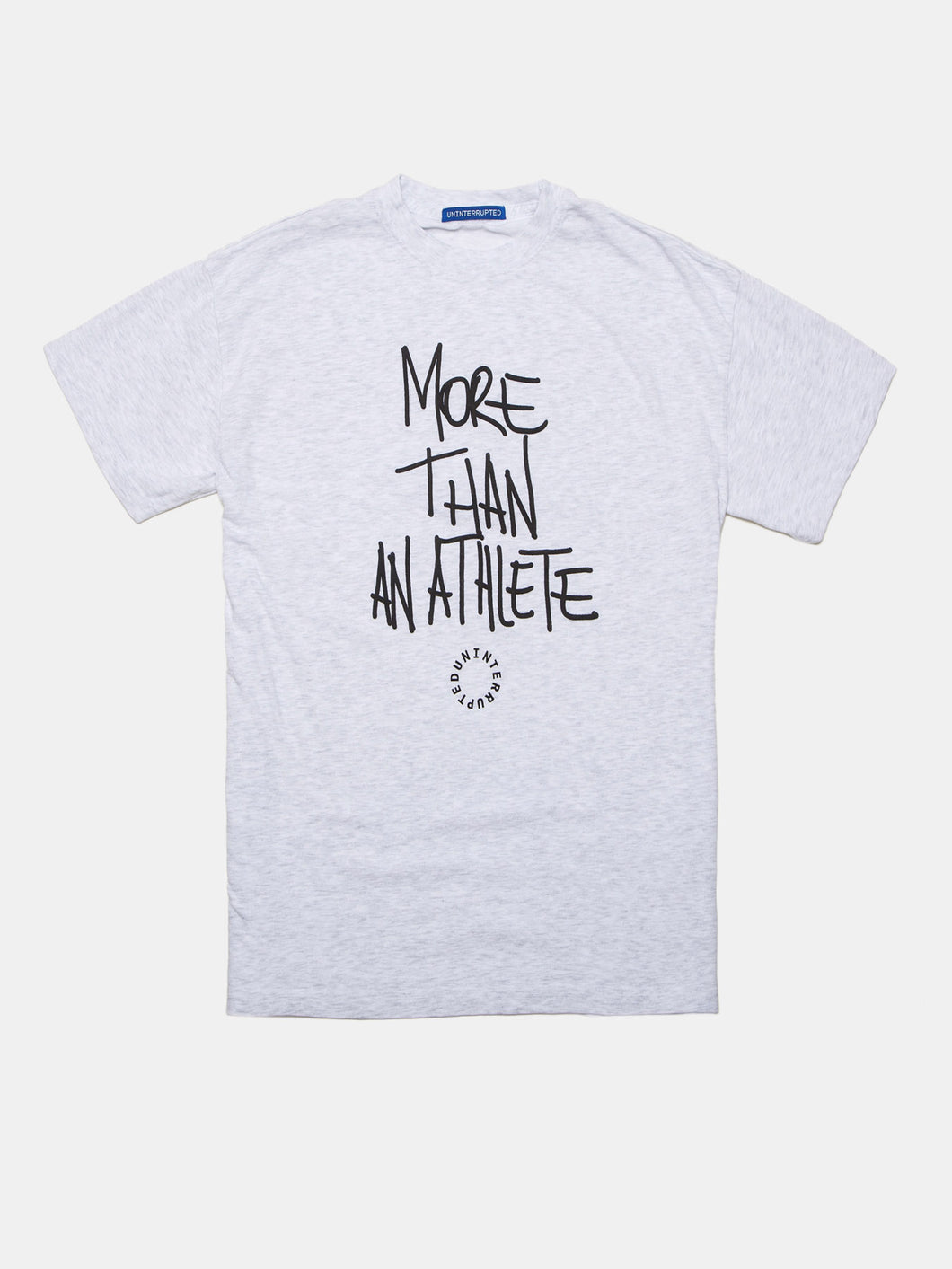 MORE THAN AN ATHLETE VENICE TEE HEATHER GREY