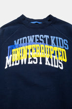 Load image into Gallery viewer, UNINTERRUPTED X MIDWEST KIDS ARCH LOGO CREWNECK NAVY