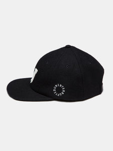 WOOL U HAT BLACK (4458683334736)