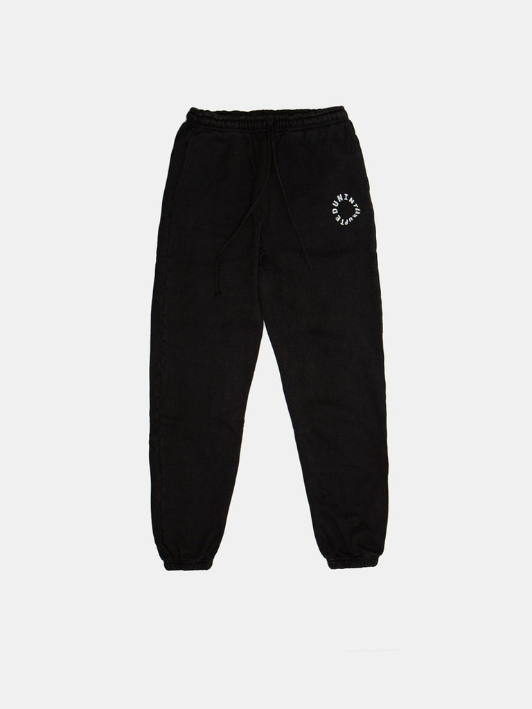 WARPED LOGO SUMMIT SWEATPANT FADED GREEN