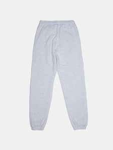 WARPED LOGO SUMMIT SWEATPANT HEATHER GREY