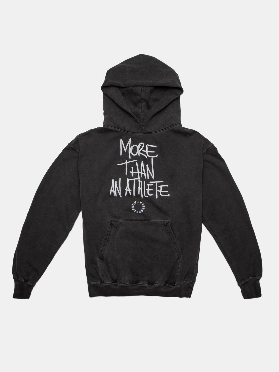 MORE THAN AN ATHLETE SUMMIT HOODIE CHARCOAL