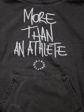Load image into Gallery viewer, MORE THAN AN ATHLETE SUMMIT HOODIE CHARCOAL