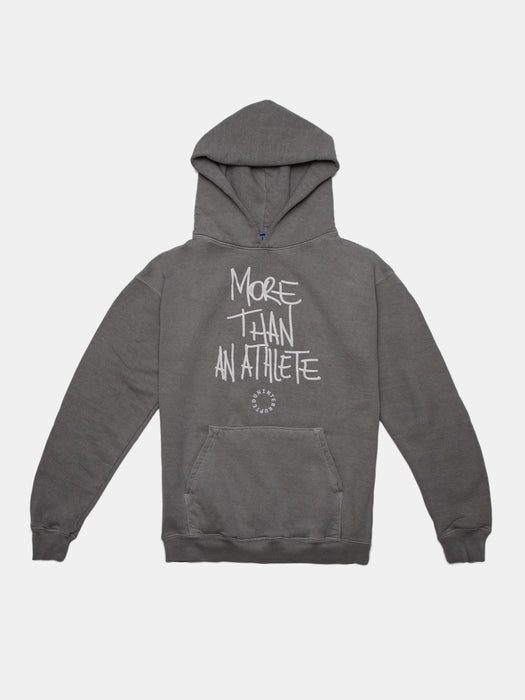 MORE THAN AN ATHLETE SUMMIT HOODIE CEMENT