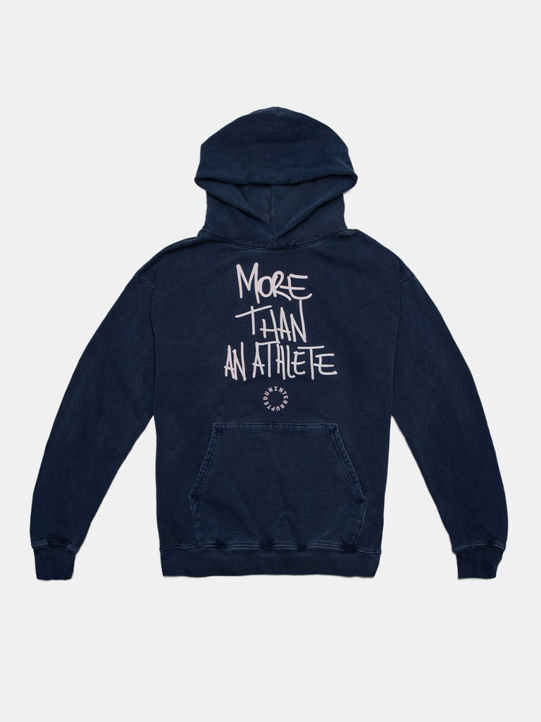 MORE THAN AN ATHLETE HOODIE OCEAN