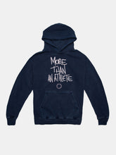 Load image into Gallery viewer, MORE THAN AN ATHLETE SUMMIT HOODIE OCEAN