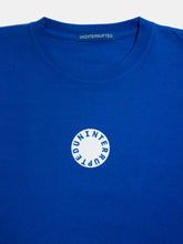 Load image into Gallery viewer, Circle LS Mulholland Tee Lapis Blue