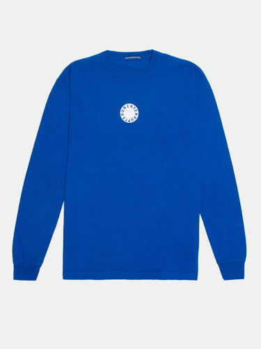 Circle LS Mulholland Tee Lapis Blue