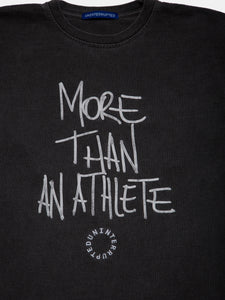 MORE THAN AN ATHLETE LS MULHOLLAND TEE CHARCOAL