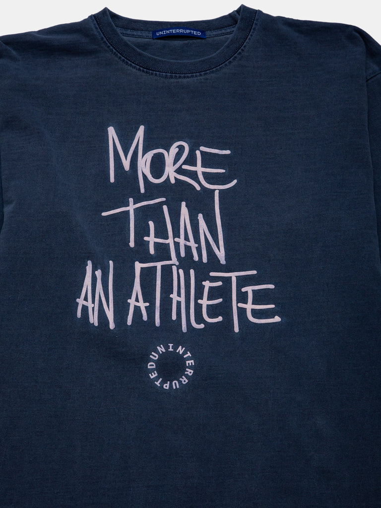 MORE THAN AN ATHLETE LS TEE OCEAN
