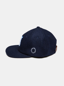 WOOL U HAT NAVY