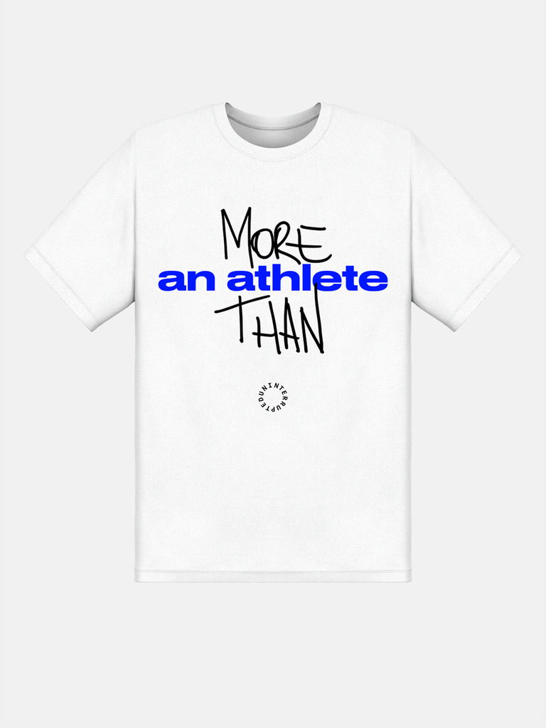 More Than Custom Tee White