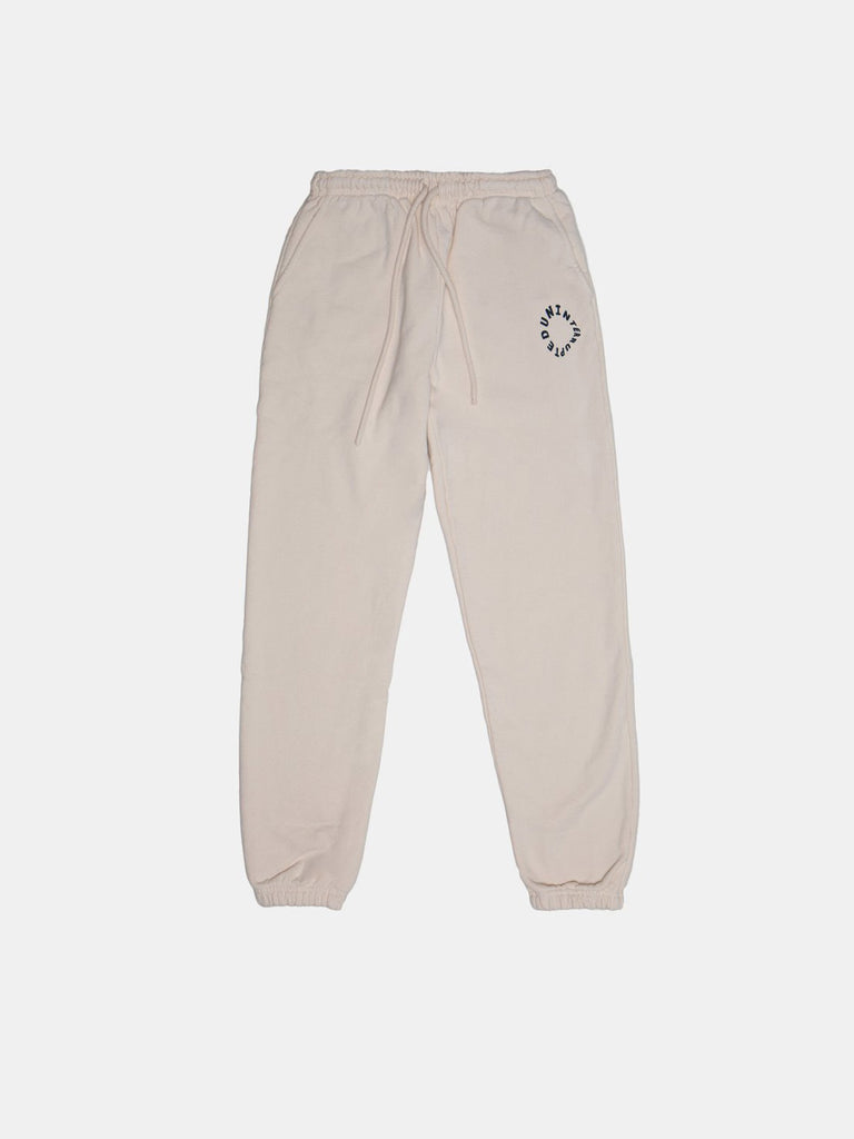 WARPED LOGO SUMMIT SWEATPANT GHOST WHITE