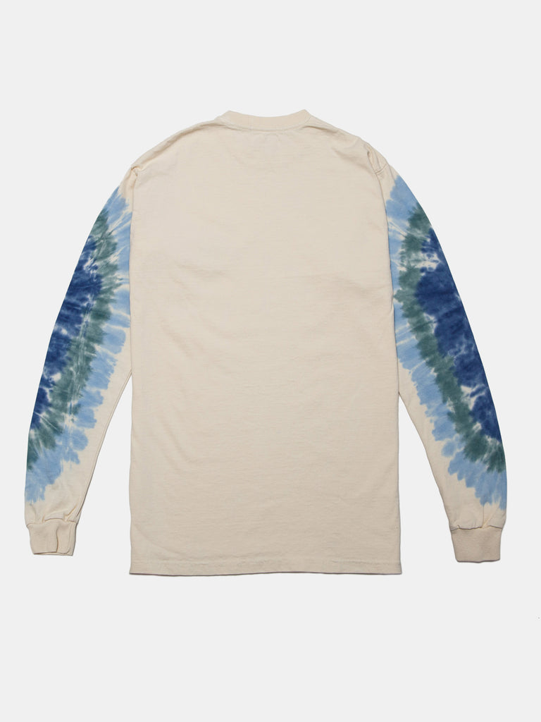 BACK TO HOOPS LS MULHOLLAND TEE GHOST WHITE