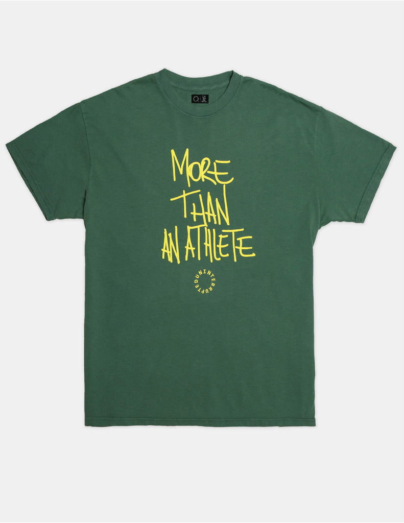 MORE THAN AN ATHLETE VENICE TEE LEMON LIME