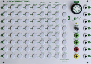 The TipTop Audio Circadian Rhythm Grid Sequencer