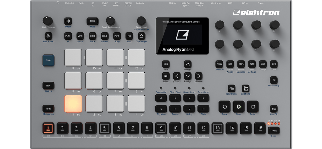 Elektron Machines Receive 7xOS Update