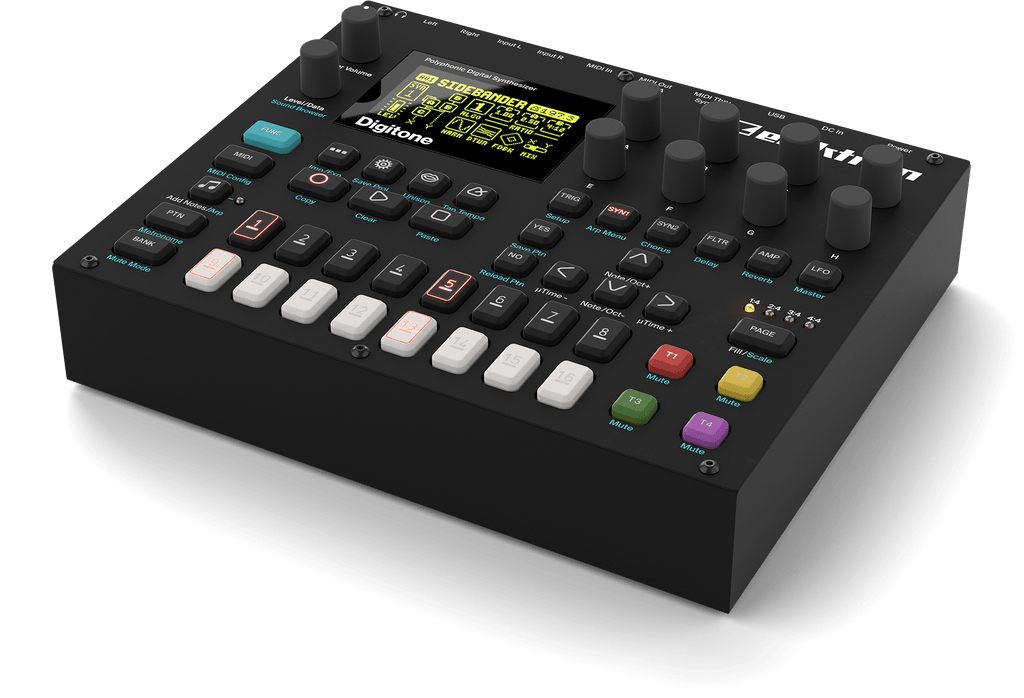 Elektron release the Digitone at NAMM 2018
