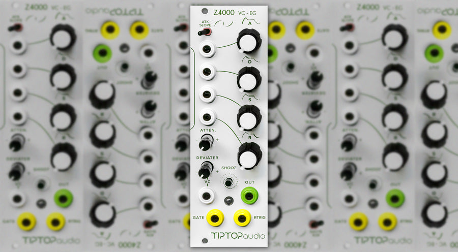 TipTop Audio releases a new envelope generator called the Z4000