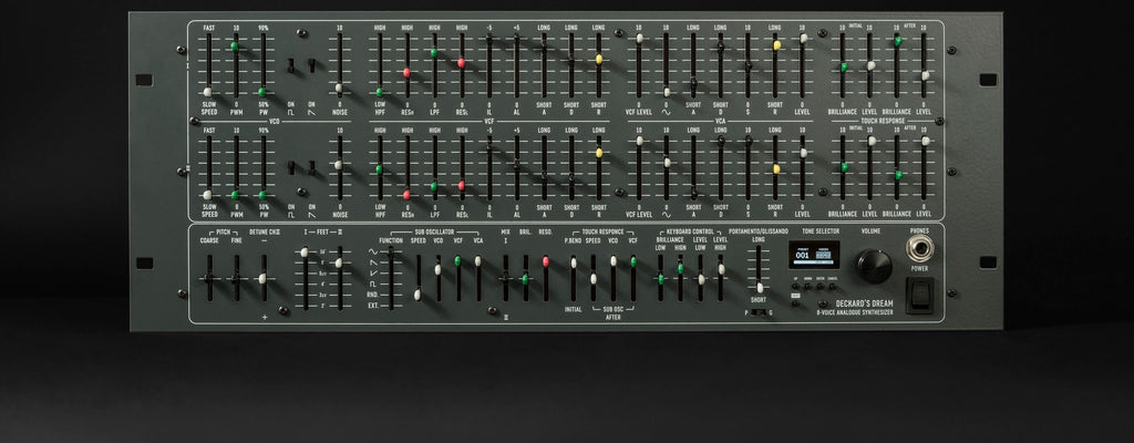 New Deckards Dream 8 Voice Analog Polyphonic Synthesizer