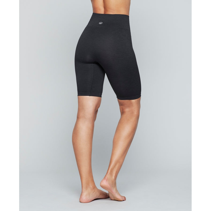 Moonchild Seamless Biker Shorts - Onyx Black